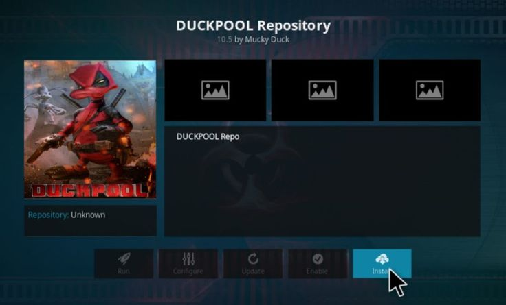 Duckpool Kodi Addon - How to Install Duckpool Repository on Kodi