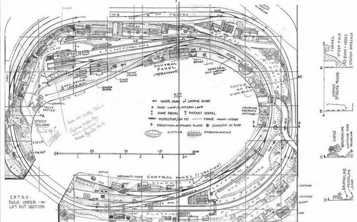48 best free model railway layout plans images on pinterest
