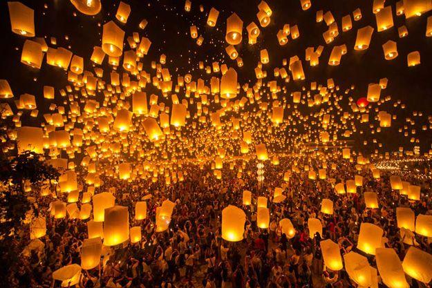 65 Intriguing, Fun and Surprising Halloween Facts | Lantern fest, Lantern festival, Sky lanterns