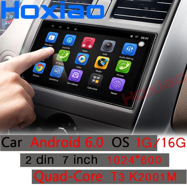 Funrover Android 8.0 auto radio 4 core <b>7 inch 2DIN</b> gps head unit ...