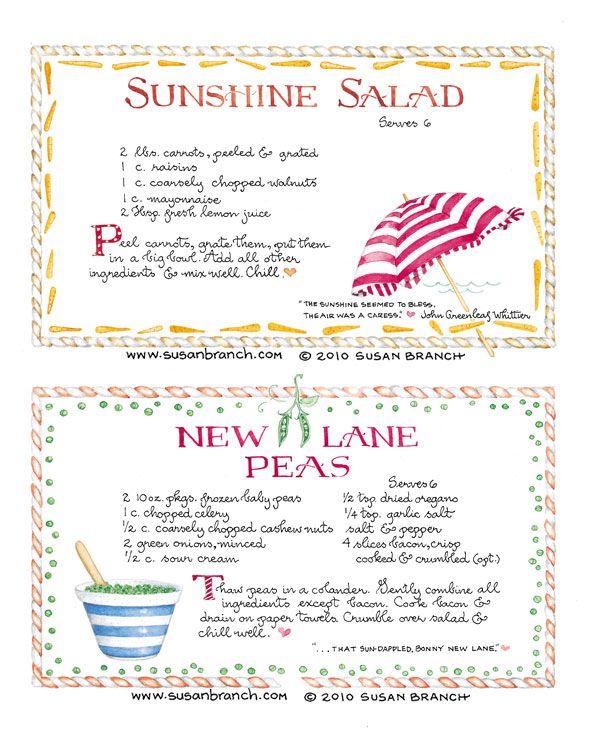 December 1, 2016 ~{Tea Party Recipes} ~Sunshine Salad and New Lane Peas