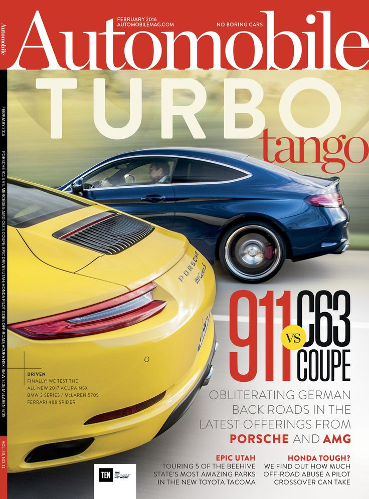 22 best images about Automobile Magazine Covers on ...