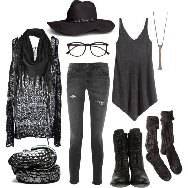 Wood Witch No. 9 – Casually Fighting Evil Spirits by n-nyx on Polyvore featuring Mode, H&M, ISABEL BENENATO, Current/Elliott, Polder, H by Hudson, Rachel Entwistle, Firetrap and Illesteva