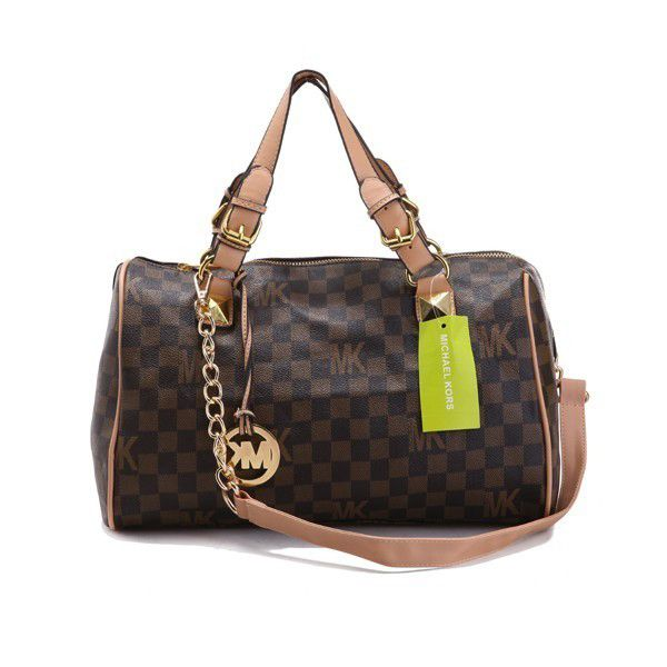 Michael Kors Ransel With MK Logo And Rosa Taping