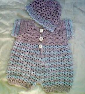 Pattern in PDF Baby Boy Crochet Blue Kisses by CARUSSDESIGNZ, $5.00