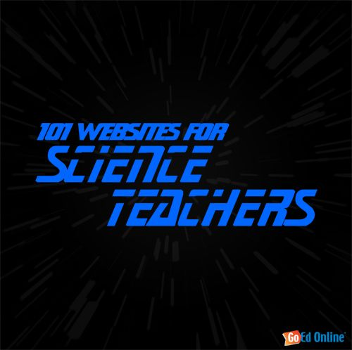101 Websites for Science Teachers - Astronomy, Biology, Chemistry, Physics and more - via GoEd Online: Websites For Teachers, Science Websites, Steph 101 Websites, Science Teacher Resources, Loose Track, Science Teachers, Science Resources, Stem Websites, 101 Science
