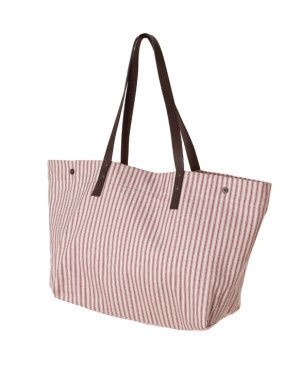 Market Tote / Brittany Red | Red Rolling Pin