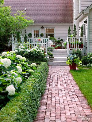 As we wrote in our September 2010 issue of Better Homes and Gardens magazine, brick patios and paths are popular DIY projects that are well within the abilities of most homeowners. However, it's critical to do the job right if you expect the project to last for decades, which it can if installed properly. Follow the steps below to create your own durable and stylish brick patio or path.