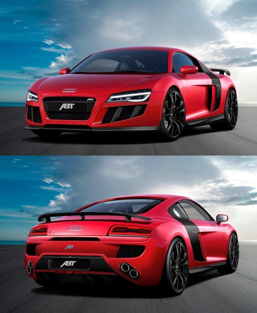 ABT Audi R8 V10.                                       Hell yes!!!!!