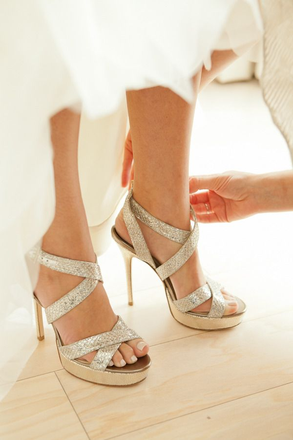 Jimmy Choo | Okay, these are lovely. Rarely do I fall in love with shoes but these are beautiful.
