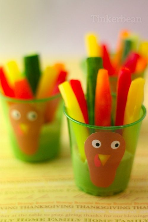 You can use an array of vegetable sticks for this as well as hummus or even guacamole!