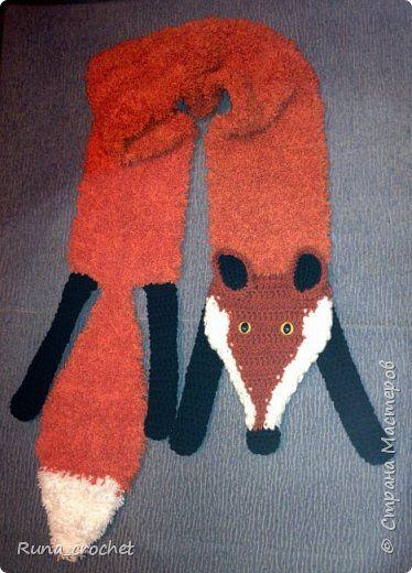 шарф-лиса фото 1