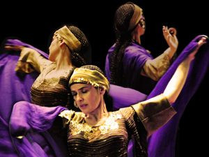 Anne Benveniste - danse orientale egyptienne - Paris