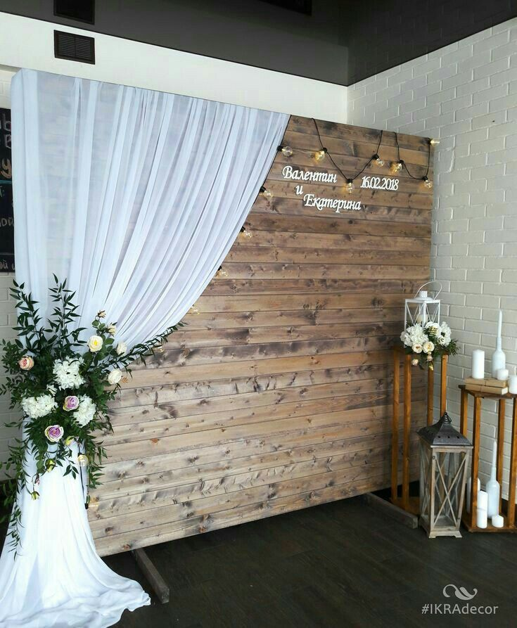 Rustic Barn Door Printed Backdrop: I Have A Huge Metal Barn Door I Could Do This With In 2019