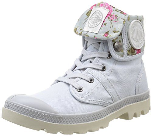 Palladium  Baggy Twl,  Damen Stiefel & Stiefeletten , Blau - Blau - Bleu (549 Lunar/Flower) - Größe: 39 - http://uhr.haus/palladium/39-eu-palladium-baggy-twl-f-damen-sneaker