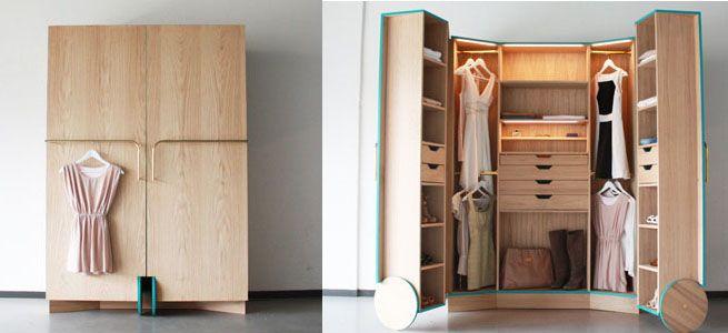 Una idea genial. Es lo que he pensado en cuanto he visto este fantástico diseño, que ha sido creado por el diseñador chino Hosun Ching como trabajo de fin de carrera. Su nombre es Walk-In Closet y …