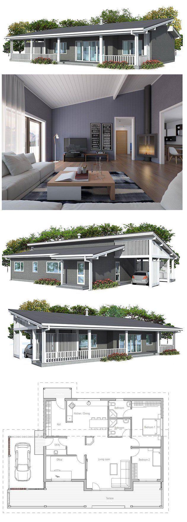 Casa com garagem  Amei