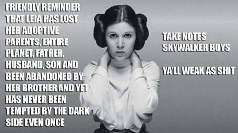 Skywalker boys take note...