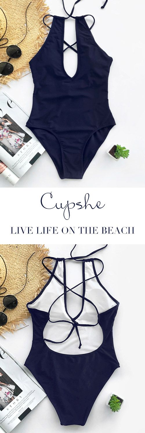 Get something different for beach parties! Get a little wild with this high leg cut style and add it to your summer wardrobe collection! You'll love its chic look and soft fitness. Have it now at Cupshe.com