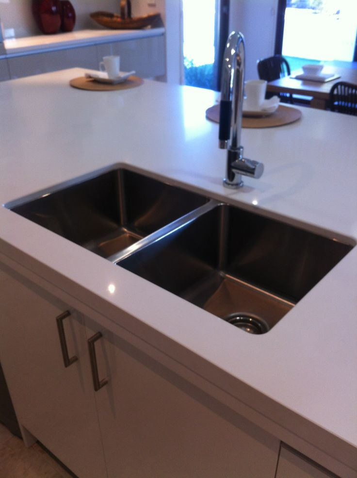 Double Underbench Sinks