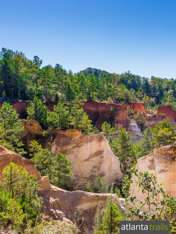 Hike Providence Canyon in southwestern Georgia, the 'Little Grand Canyon' of the east