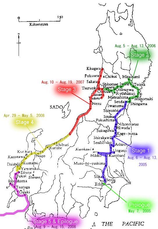 Matsuo Basho S Travel