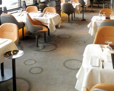 Un Univers Graphique. SkyParisWe. La Moquette Du Restaurant Le Ciel De Paris.