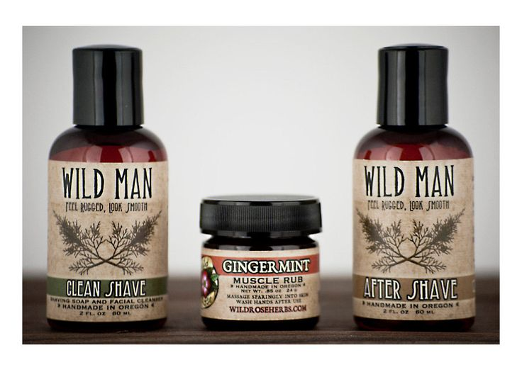 Wild Man SHAVING Gift Basket - Men's Gift Set with Shaving Soap After Shave and Muscle Rub by WildRoseHerbs on Etsy https://www.etsy.com/listing/170345316/wild-man-shaving-gift-basket-mens-gift