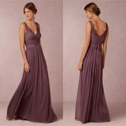 Cheap Bridesmaid Dresses With Sash V Neck Sheer Lace Straps Wrapped Bodice Maid Of Honor Dresses New Arrival Long Graduation Dresses Jr Bridesmaids Dresses Modest Bridesmaid Dress From Andybridal, $91.46  Dhgate.Com
