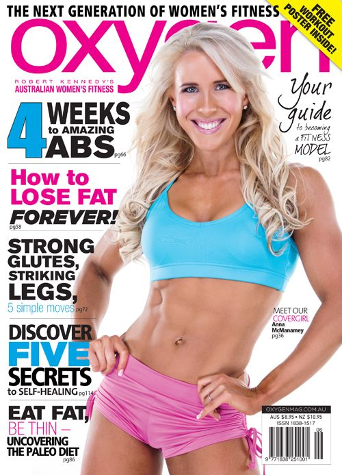 Check out our latest cover model Anna McManamey  Oxygen MagazineAnna