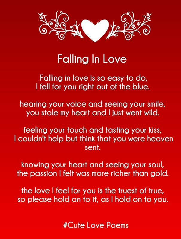 love rhyming poems for her   Cute Love Quotes for Her ...