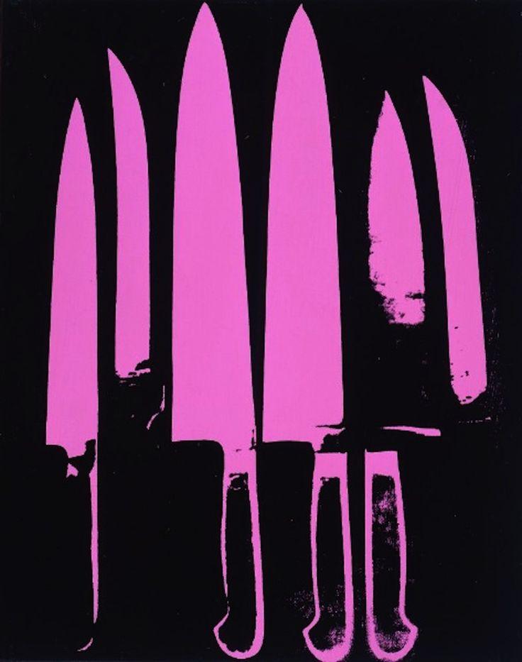 """Andy Warhol, """"Knives"""", 1981"""