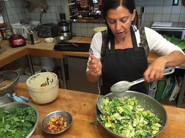 salade césar sans gluten sans produits laitiers