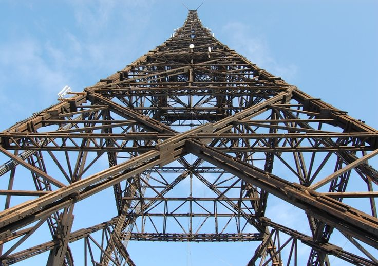 Gliwice Radio Tower, Poland; tallest wooden structure in the world (?)