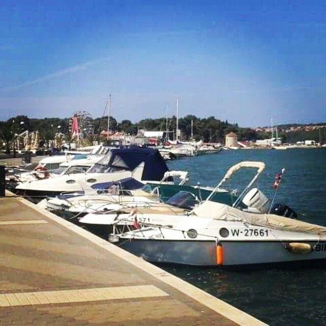 Harbour in Medulin.