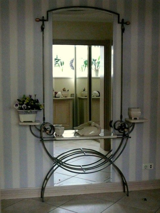 17 Best Images About Mirrors Wrought Iron On Pinterest