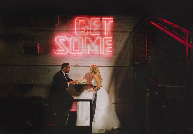 Get some - Auckland Wedding - Tyler St Garage