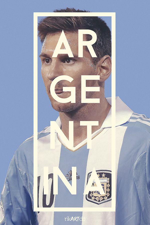 2014 FIFA World Cup Posters by Ricardo Mondragon