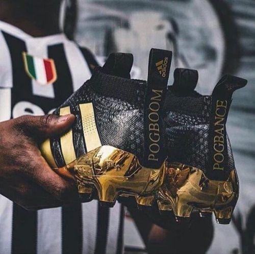 Paul Pogba firmó contrato con Adidas y presentó sus nuevos...