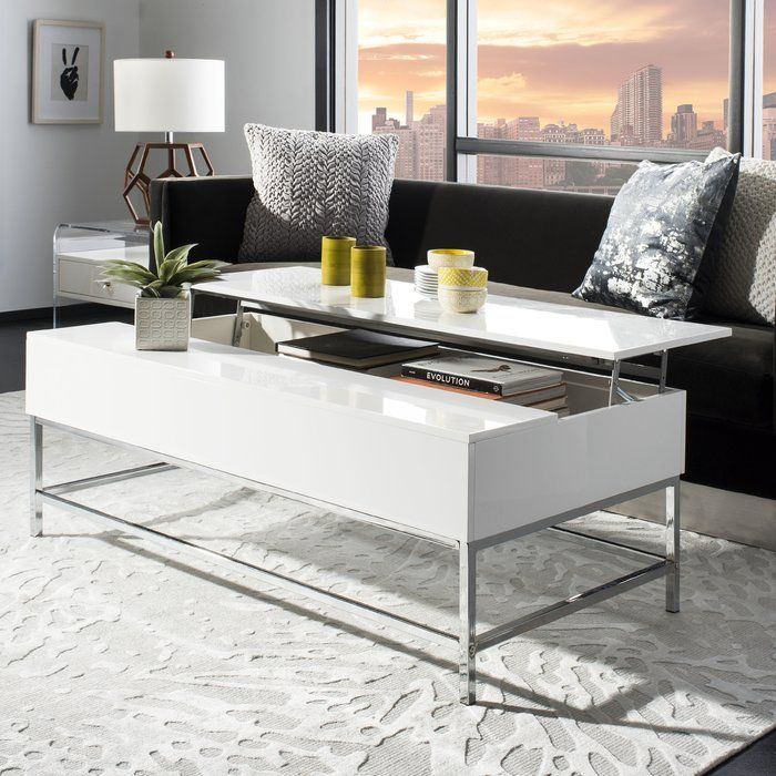 Gutowski Lift Top Coffee Table In 2019 With