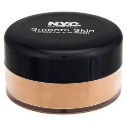 NYC Smooth Skin Loose Face Powder Naturally Beige is a face powder that helps set your make up without leaving your face dry or damaged.
