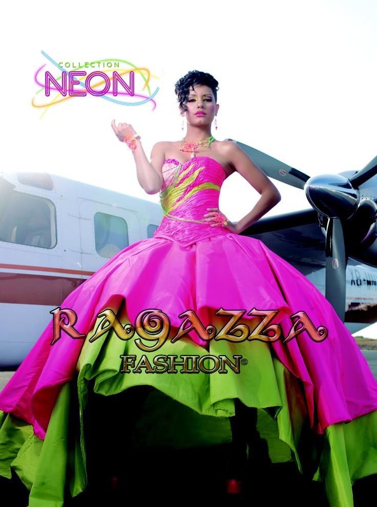 vestido Neon, Ragazza fashion | Vestidos de 15 años ...