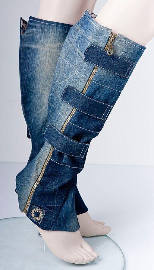 джинсовые сапоги своими руками - Поиск в Google