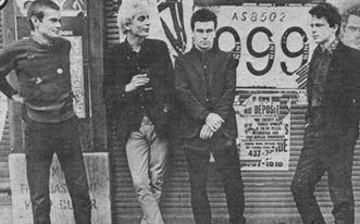 999 English punk rock band, formed in London 1976. Between 1978 and 2007, 999 released 14 singles & 12 studio albums. 5 singles released by 999 between 1978 and 1981 charted the Top 75 in the UK Singles Chart, with one further single released by 999 in 1978, Homicide, charting within the Top 40. In addition, as a result of extensive touring in the United States in the early 1980s, the band's 3rd & 4th fourth studio albums: The Biggest Prize in Sport and Concrete, each charted on the U.S.