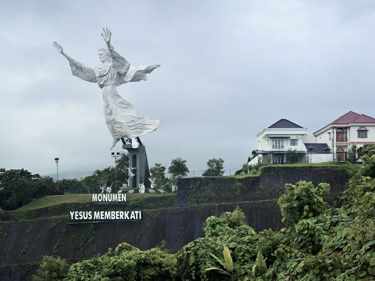 Christ Blessing, Manado, Indonesia.