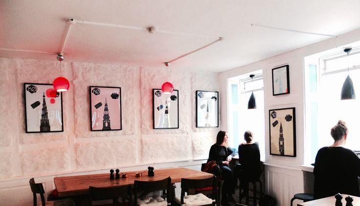 Copenhagen Poster Silhouette. at Voulez-Vous?, café in Copenhagen...