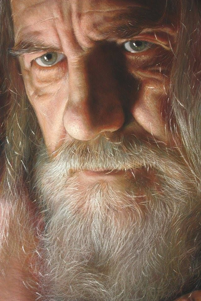 Colored Pencil Drawing by https://www.facebook.com/ruben.bellosoadorna?fref=photo