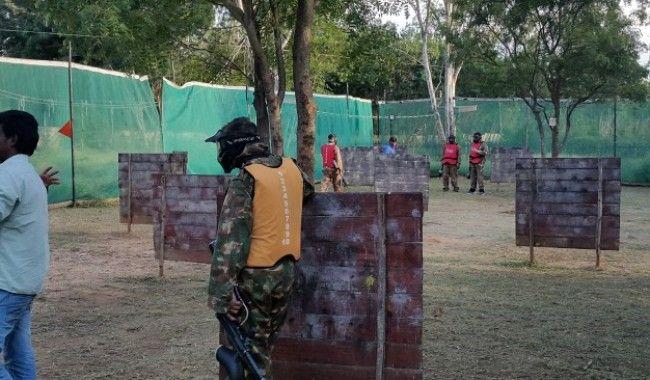 Paintball in Angsana Bangalore