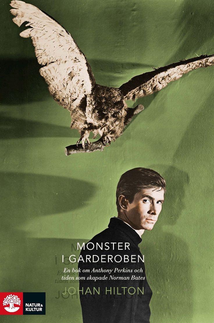 Omslag och inlaga till Monster i garderoben av Johan Hilton på Natur & Kultur.