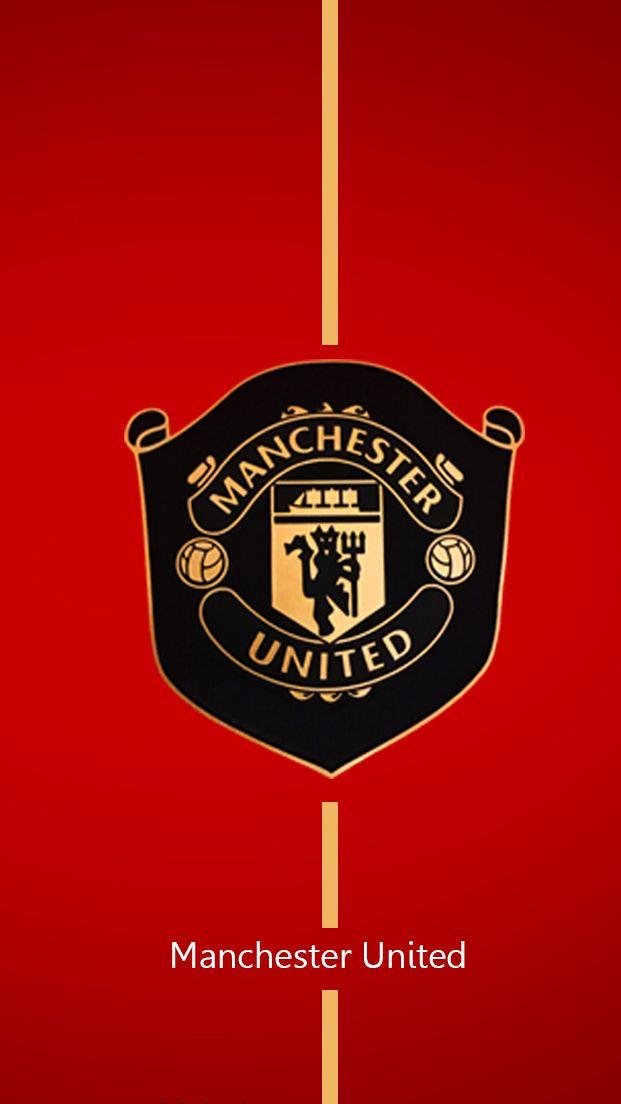 Manchester United 2019 2020 New Logo 2 Bola Kaki Pemain Sepak Bola Sepak Bola